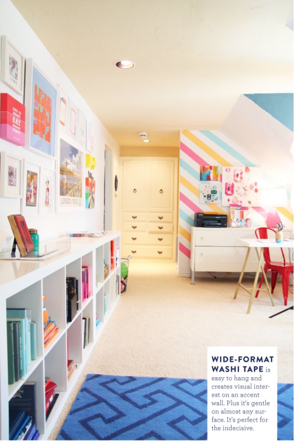 Colorful Playroom And Living Space Design Dazzle