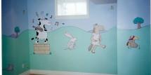 A Sandra Boynton Mural