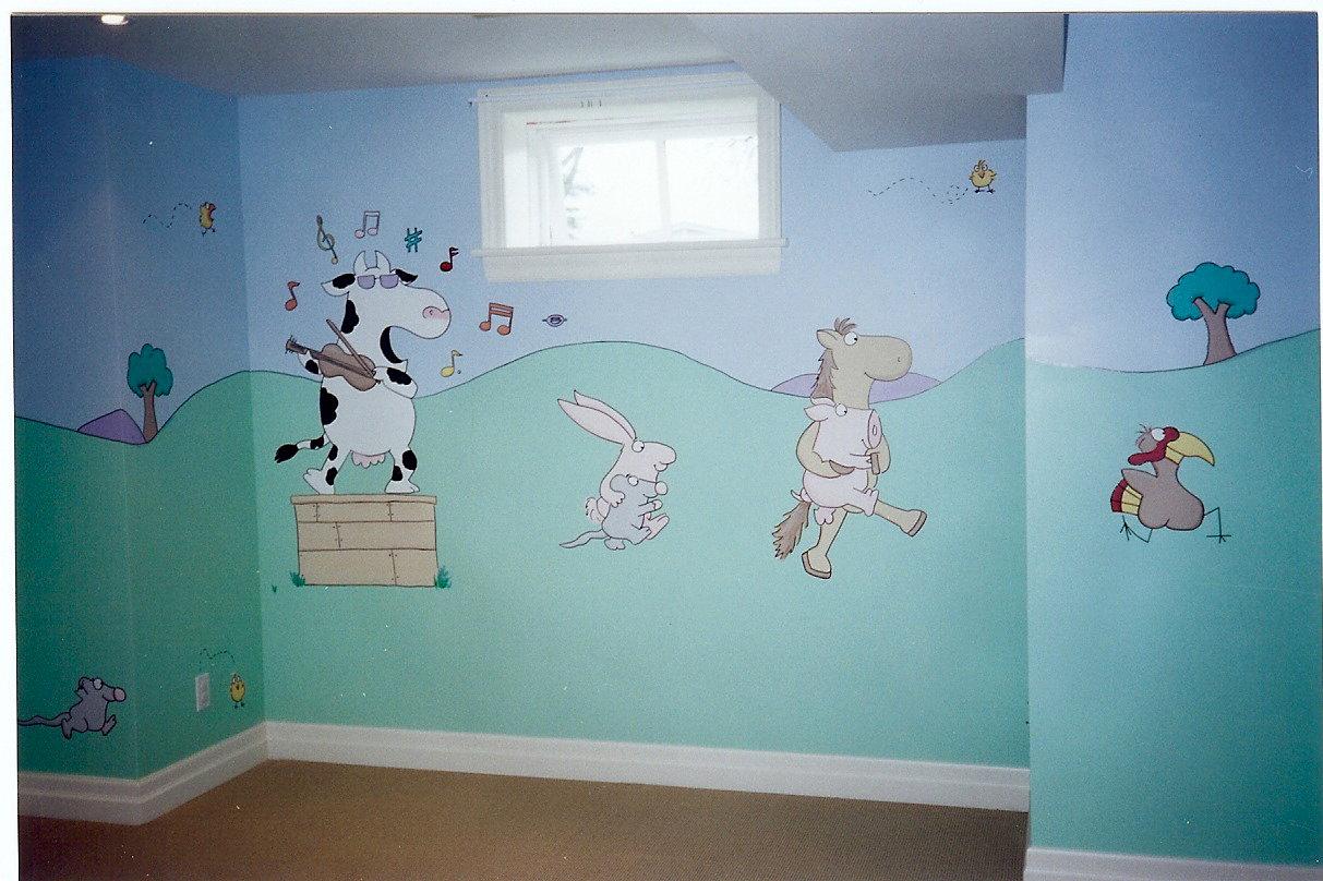 Good A Sandra Boynton Mural