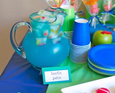 bug theme birthday party beetle juice
