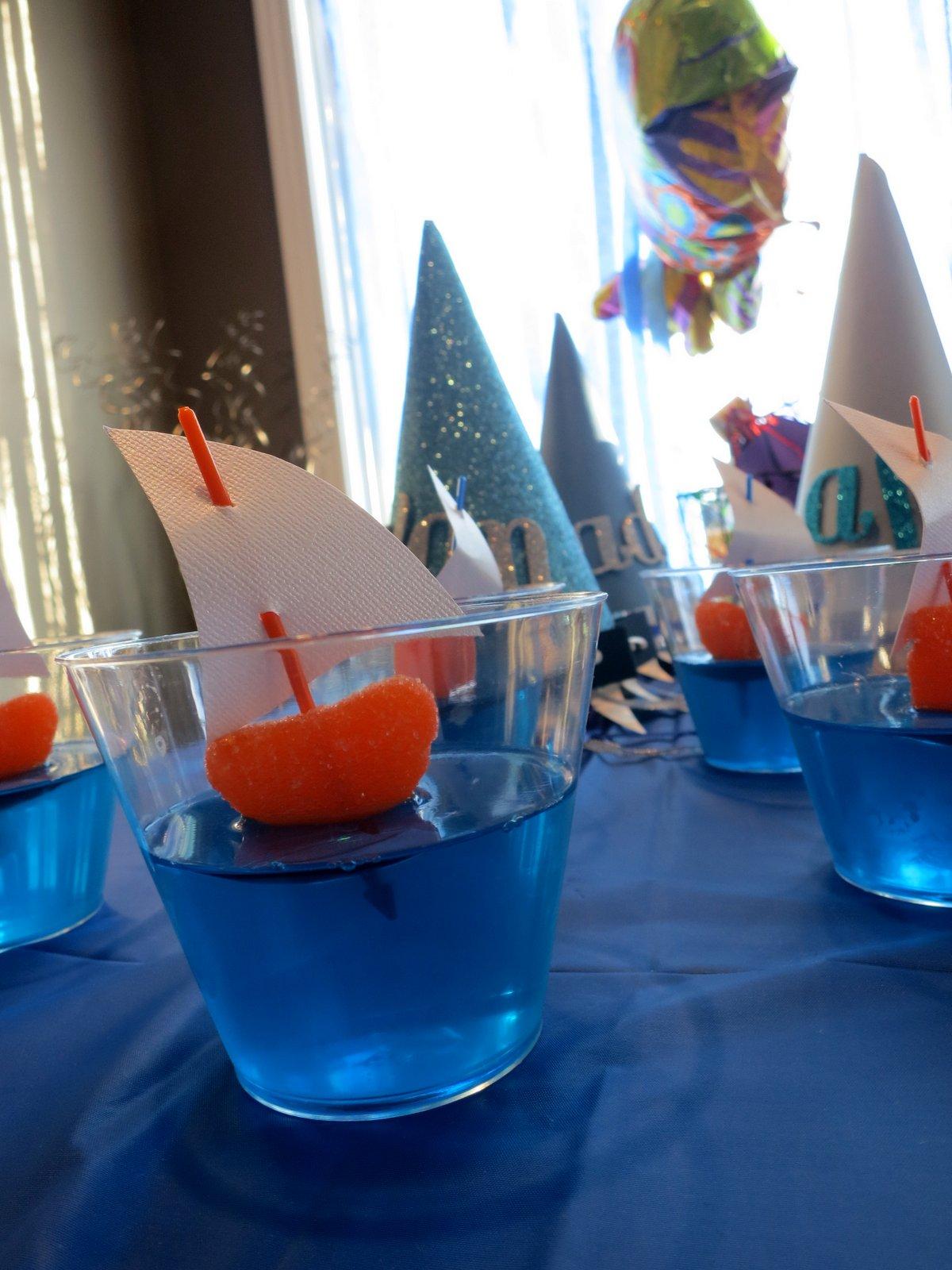Ocean birthday party design dazzle - Party decorations ideas ...