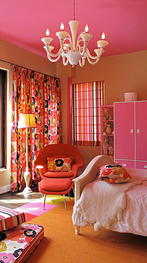 orange and pink bedroom ideas orange floral bedroom design dazzle 19353