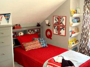 sports den room - Colorful Boys Room