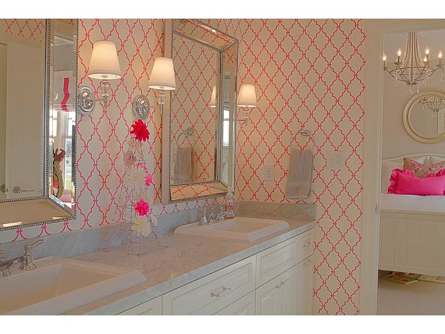 Chic girls teen bedroom design dazzle for Bathroom ideas for teenage girls