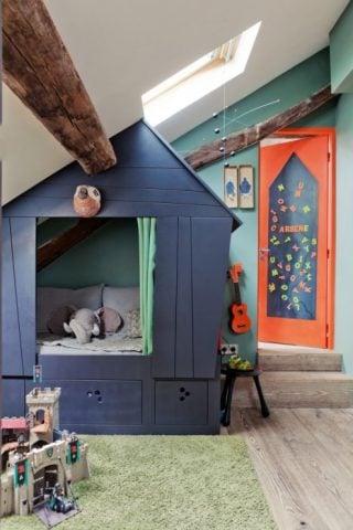 Boy's Nature Bedroom
