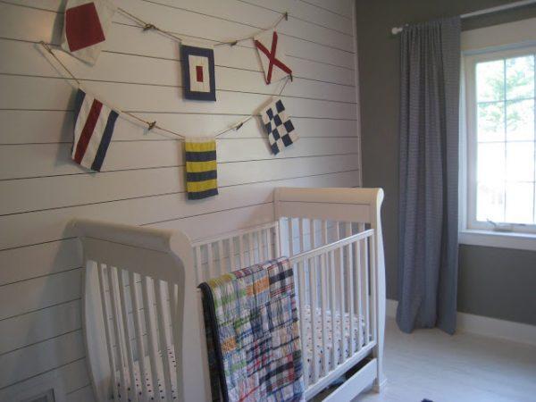 Nautical Theme Nursery Crib