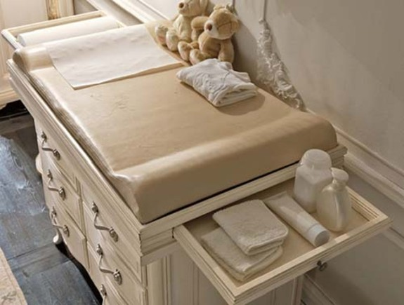 Change your baby's changing station into a vanity once they begin to ...
