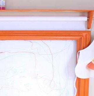 Kids' Art Center And Display Frame