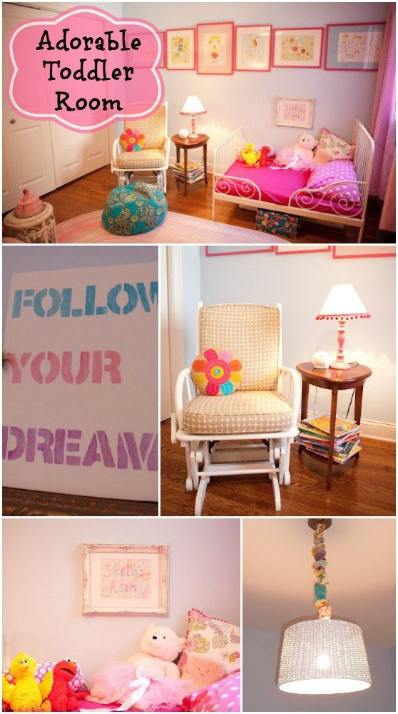 Adorable Toddler Room In Pink And Blue What A Cute Cozy For