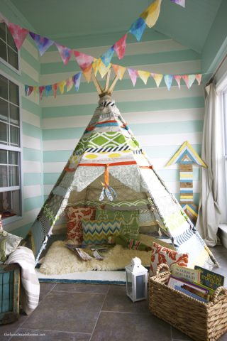No-Sew Kids Teepee