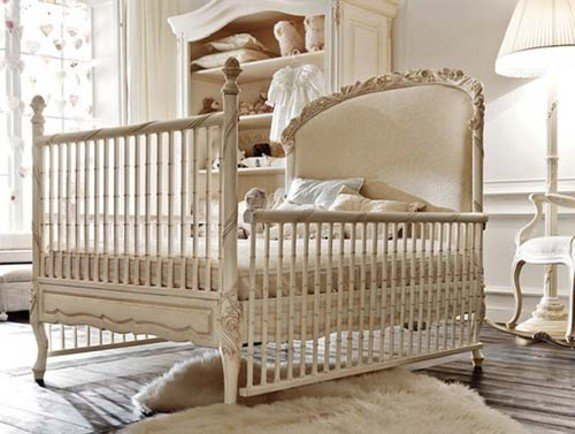 Neutral baby room transforms to big kids room design dazzle - Muebles para bebe ...