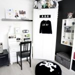 Kids Rooms: Black and White Accents