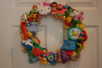 toy wreath