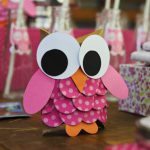 Blue and Pink Owl Party
