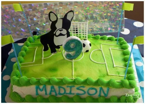 Girls Soccer Birthday Party