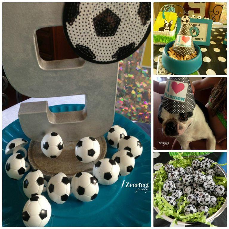 Girls Soccer Birthday Party Favors