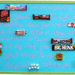 Candy Gram Graduation Gift