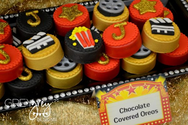 hollywood party chocolate covered oreos
