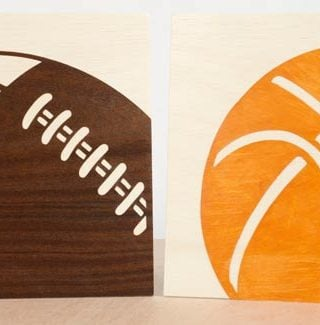 Create Wood Art Using the Cricut Machine