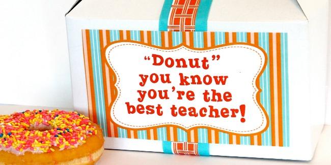 free teacher appreciation printable
