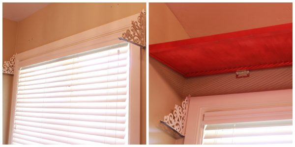 tutorial wood shutter window valance