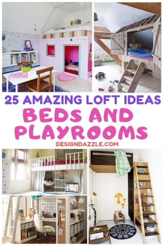 25 amazing loft ideas beds and playrooms