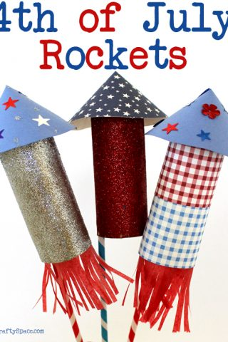 DIY 4th of July Rockets