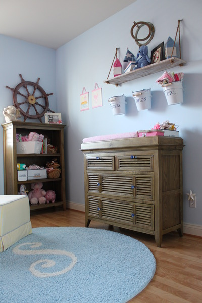 nautical girl room
