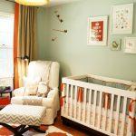 Modern Vintage Baby Nursery
