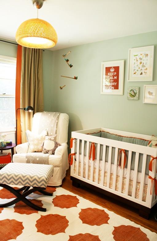 Modern Vintage Baby Nursery Design Dazzle