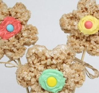 Summer Camp: Rice Krispie Treat Bouquet
