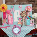 Girls Horse Themed Birthday Party