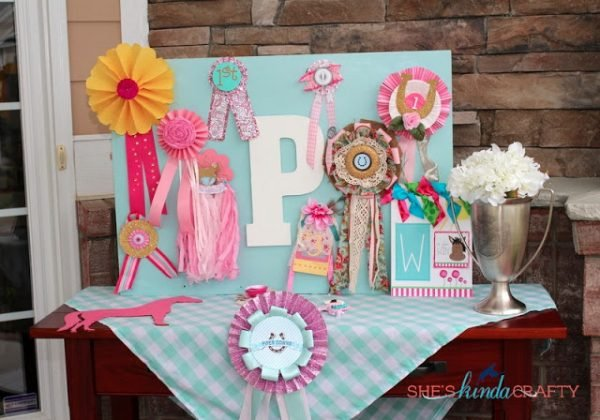 horse themed girls birthday party