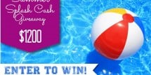 Summer Splash {$1200} Cash Giveaway - Design Dazzle