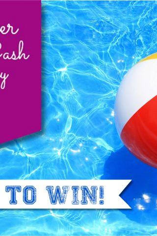Summer Splash Cash Giveaway {$1200}