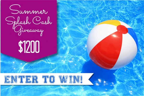 Summer Splash {$1200} Cash Giveaway on Design Dazzle!