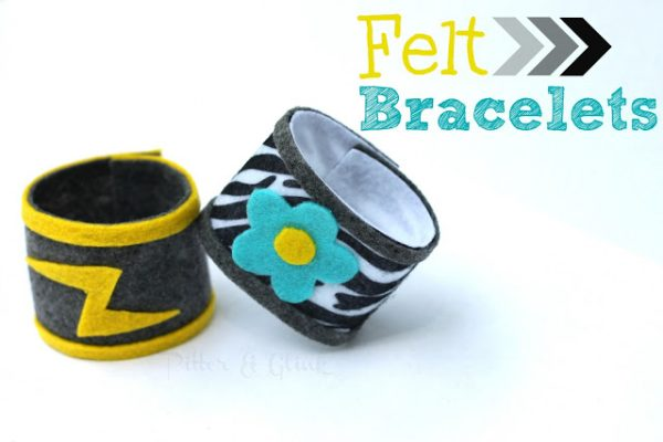 Summer Felt Bracelet