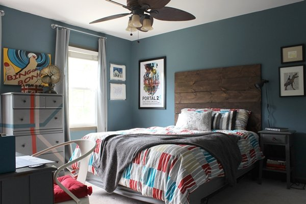 Rustic modern teen boy 39 s room design dazzle Modern bedroom ideas for teenage guys