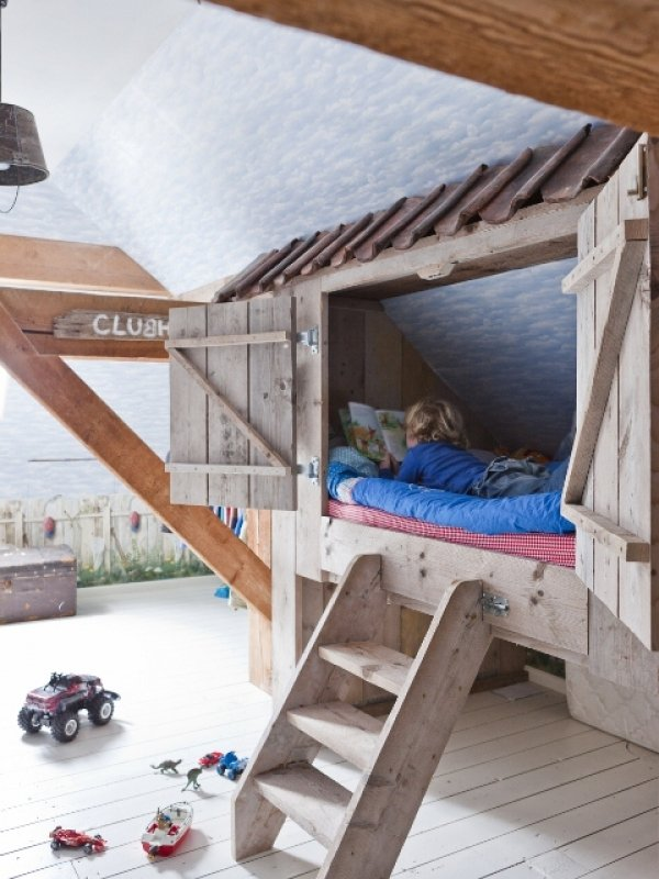25 Amazing Loft Ideas - Beds and Playrooms - Design Dazzle