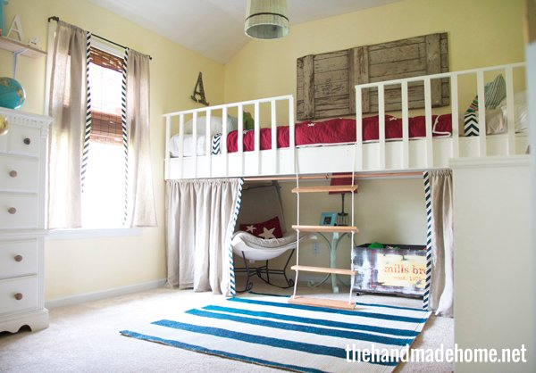 amazing boys bedroom bunk beds | 25 Amazing Loft Ideas - Beds and Playrooms - Design Dazzle