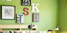 boys room wall art ideas