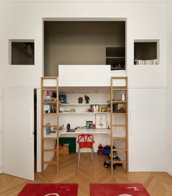 Marvelous  Amazing Loft Ideas Beds and Playrooms
