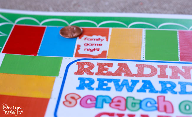 scratch off stickers for reading chart