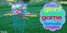 Giant Kerplunk Game - Design Dazzle