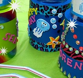 Summer Camp: Cup Holders with Bling
