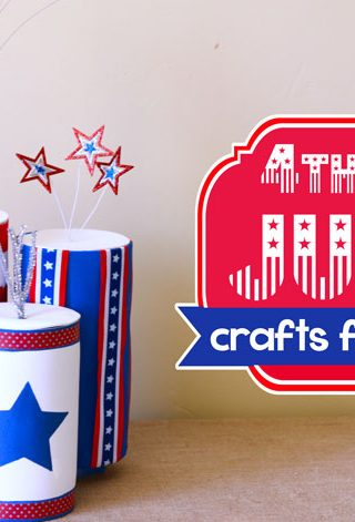 Fourth of July Kids Crafts Made From Recyclables