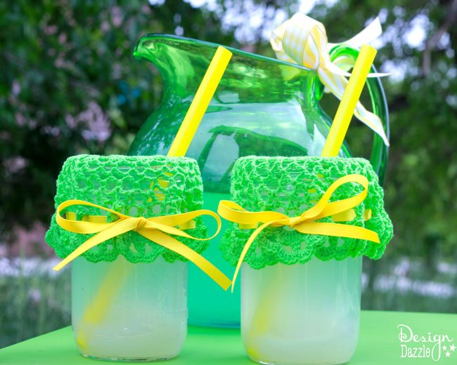 Easy DIY lemonade stand - Design Dazzle