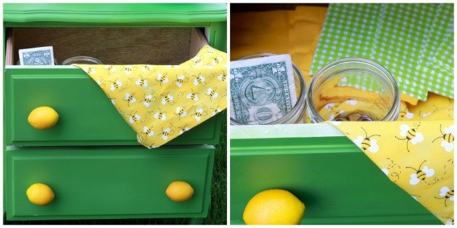 lemonade stand with drawers - Design Dazzle