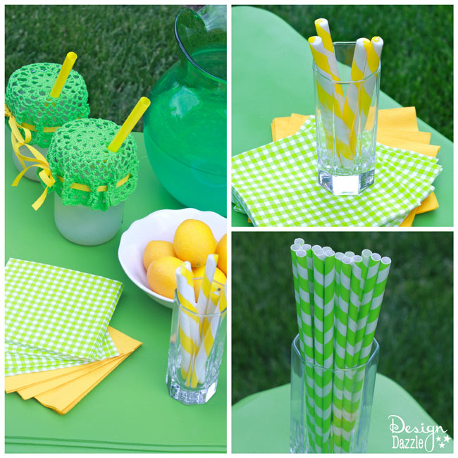 lemonade stand supplies - Design Dazzle