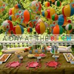 Summer Camp: Day at the Beach Playdate & FREE Printables